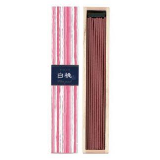 Incienso White Peach (Melocotón Blanco) Kayuragi - caja 40 barritas
