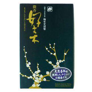 Incienso Bikou Kobunboku Baieido - caja 200 barritas