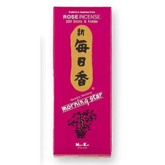 Incienso Rosa (Morning Star Clásico) - caja 200 barritas