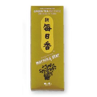 Incienso Té verde (Morning Star Clásico) - caja 200 barritas