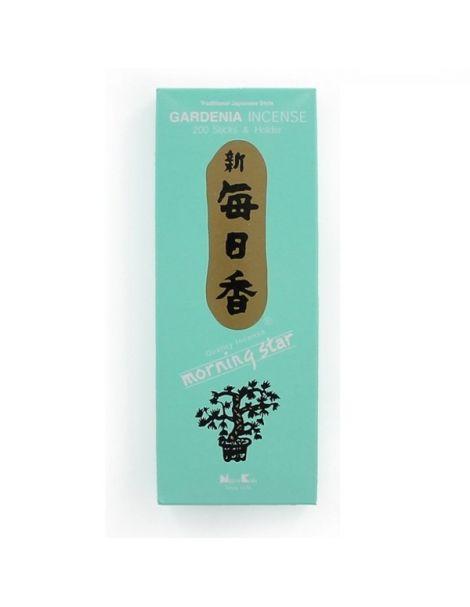 Incienso Gardenia (Morning Star Clásico) - caja 200 barritas