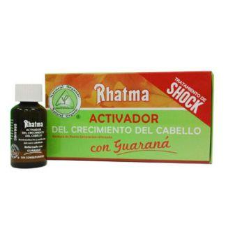 Loción Activadora del Crecimiento del Cabello (Tratamiento de Shock) Rhatma - 4x25 ml.