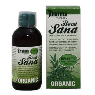 Colutorio de Eucalipto Boca-Sana Rhatma - 300 ml.