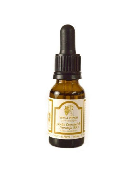 Aceite Esencial de Naranja Bio Vinca Minor - 17 ml.