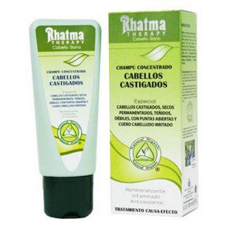 Champú Concentrado Cabellos Castigados Rhatma - 100 ml.