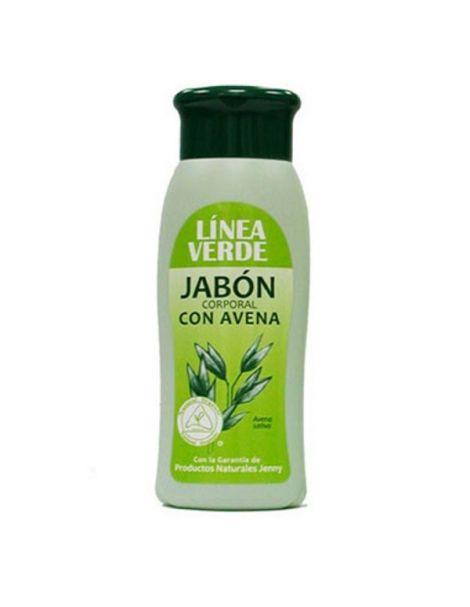 Jabón Corporal con Avena Línea Verde - 400 ml.