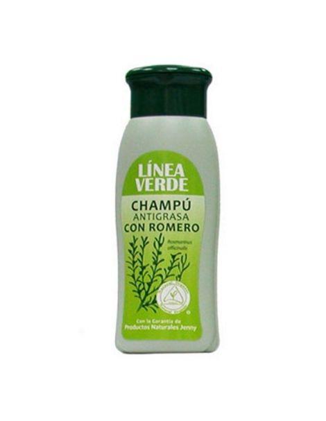 Champú Antigrasa con Romero Línea Verde - 400 ml.