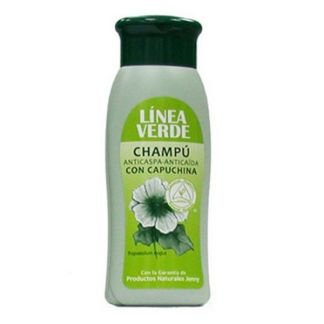 Champú Anticaspa-Anticaída con Capuchina Línea Verde - 400 ml.