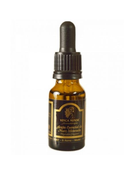 Aceite Esencial de Nuez Moscada Vinca Minor - 17 ml.