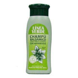Champú Balsámico con Hierbabuena Uso Frecuente Línea Verde - 400 ml.
