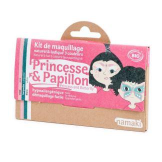 Kit de Maquillaje Infantil Bio Princesa & Mariposa Namaki