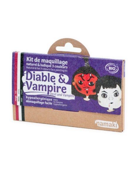 Kit de Maquillaje Infantil Bio Diablo y Vampiro Namaki