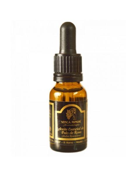 Aceite Esencial de Palo de Rosa Vinca Minor - 17 ml.
