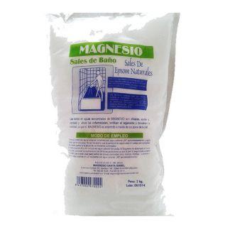 Sales de Baño de Magnesio-Epsom Santa Isabel - 2 Kilos