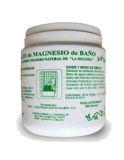 Sales de Baño de Magnesio-Epsom Santa Isabel - 500 gramos