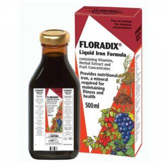 Floradix Hierro + Vitaminas Salus - 500 ml.