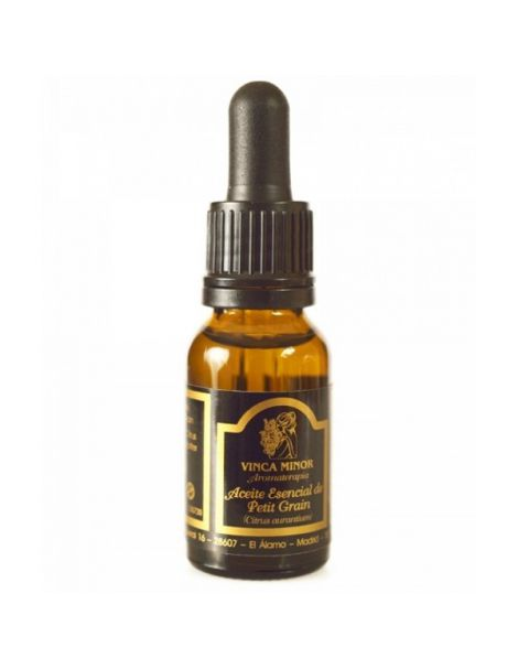 Aceite Esencial de Petitt Grain Vinca Minor - 17 ml.