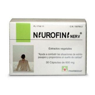 Neurofine Nerv Fharmocat - 30 cápsulas