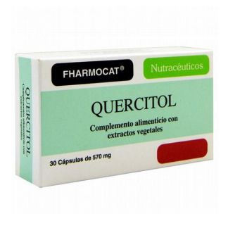 Quercitol Fharmocat - 30 cápsulas