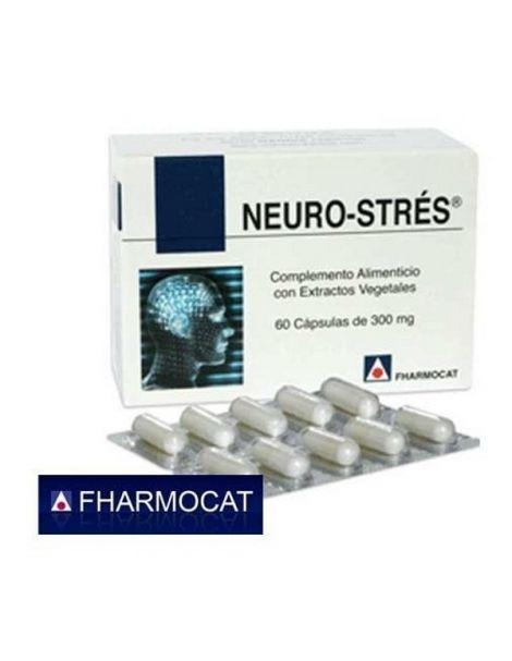 Neuro-Strés Fharmocat - 60 cápsulas