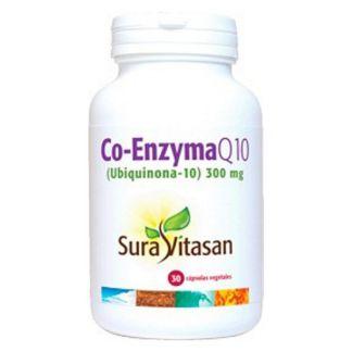 Co-Enzyma Q10 300 mg. (Ubiquinona) Sura Vitasan - 30 cápsulas