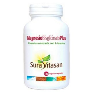 Magnesio Bisglicinato Plus Sura Vitasan - 120 cápsulas