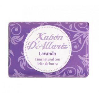 Jabón de Leche de Burra y Karité Lavanda Xabón D´Allariz - 100 gramos