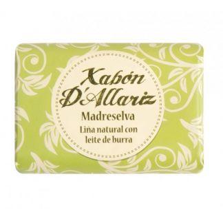 Jabón de Leche de Burra y Karité Madreselva Xabón D´Allariz - 100 gramos