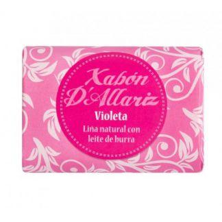 Jabón de Leche de Burra y Karité Violeta Xabón D´Allariz - 100 gramos