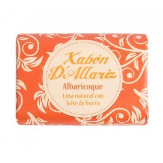 Jabón de Leche de Burra y Karité Albaricoque Xabón D´Allariz - 100 gramos