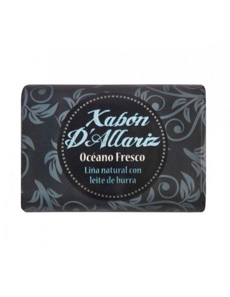 Jabón de Leche de Burra y Karité Océano Fresco Xabón D´Allariz - 100 gramos