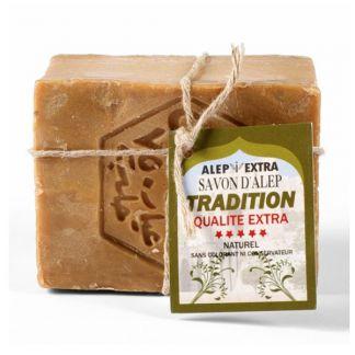 Jabón de Alepo Tradition - pastilla de 200 gramos