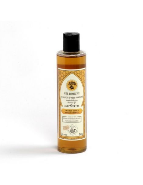 Gel de Ducha de Jabón de Alepo Naranjas Dulces - 250 ml.