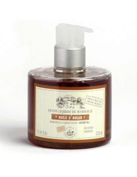 Jabón Líquido de Marsella Aceite de Argán Bio - 330 ml.