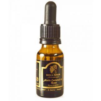 Aceite Esencial de Rosa Gálica Vinca Minor - 17 ml.