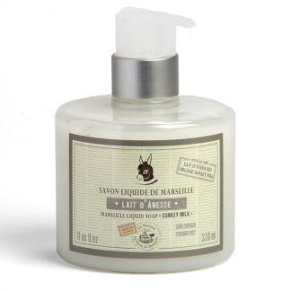 Jabón Líquido de Marsella Leche de Burra Bio - 330 ml.