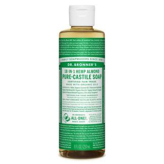 Jabón de Castilla Líquido de Almendras Dr. Bronner´s - 236 ml.
