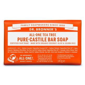 Jabón de Castilla de Árbol del Té Dr. Bronner´s - 140 gramos