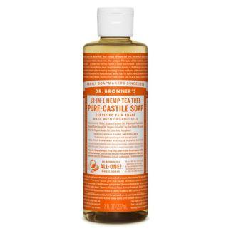 Jabón de Castilla Líquido de Árbol del Té Dr. Bronner´s - 236 ml.