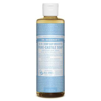 Jabón de Castilla Líquido Bebés-Neutro Dr. Bronner´s - 236 ml.