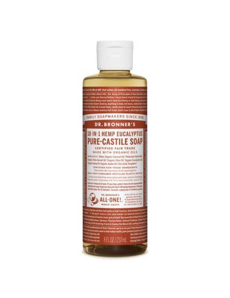 Jabón de Castilla Líquido de Eucalipto Dr. Bronner´s - 236 ml.
