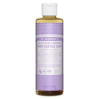 Jabón de Castilla Líquido de Lavanda Dr. Bronner´s - 236 ml.