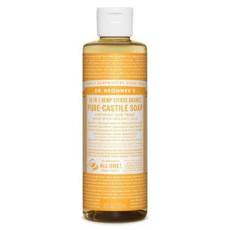 Jabón de Castilla Líquido Cítrico-Naranja Dr. Bronner´s - 236 ml.