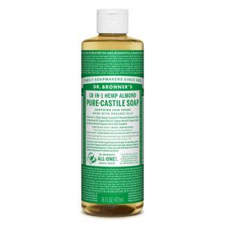 Jabón de Castilla Líquido de Almendras Dr. Bronner´s - 473 ml.