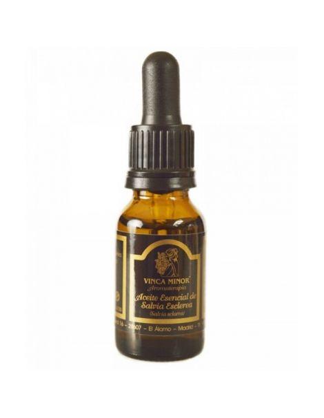 Aceite Esencial de Salvia Esclarea Vinca Minor - 17 ml.