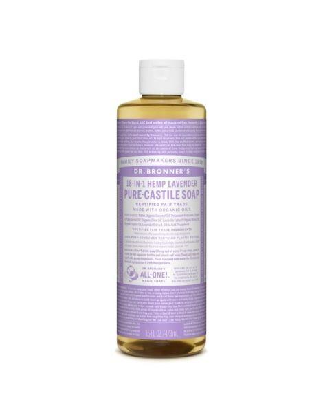 Jabón de Castilla Líquido de Lavanda Dr. Bronner´s - 473 ml.