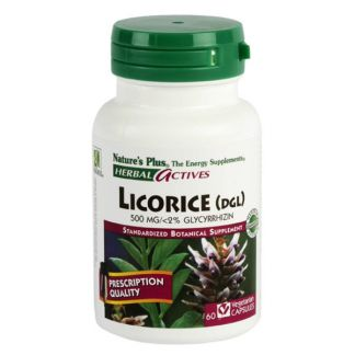 Regaliz (Licorice) Nature's Plus - 60 cápsulas