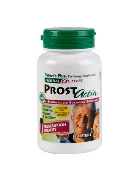 Prostactin Nature's Plus - 60 perlas
