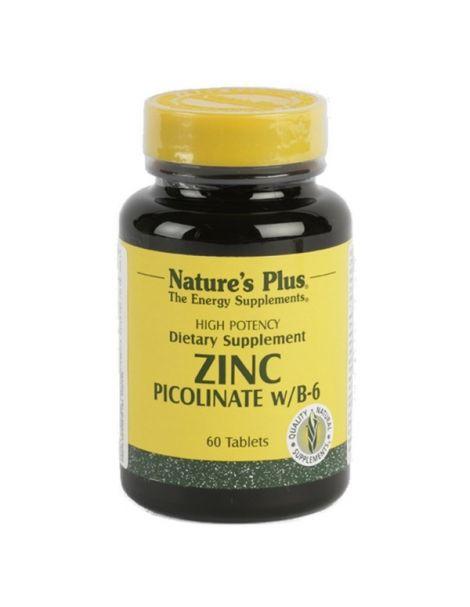 Picolinato de Zinc Nature's Plus - 60 comprimidos