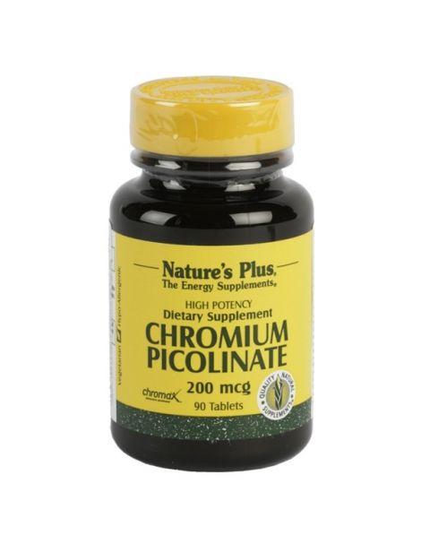 Picolinato de Cromo Nature's Plus - 90 comprimidos